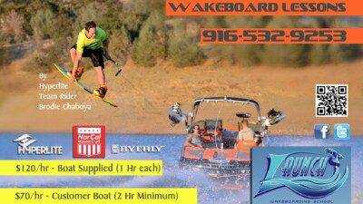 WakeScout listings in California: Launch Wakeboarding School