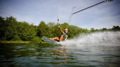 Wakeboarding, Waterskiing, and Cable Wake Parks in Rieste: Alfsee StrandArena