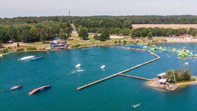 Wakeboarding, Waterskiing, and Cable Wake Parks in Wachtendonk: Blaue Lagune