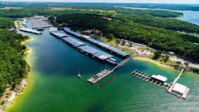 Wakeboarding, Waterskiing, and Cable Wake Parks in Denison: Grandpappy Point Marina