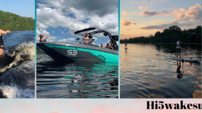 Wakeboarding, Waterskiing, and Cable Wake Parks in Trois Rivieres: HI-5 Wakeboard