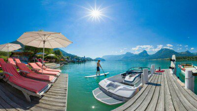 Wakeboarding, Waterskiing, and Cable Wake Parks in St Wolfgang: Hotel Furian