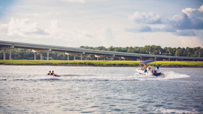Wakeboarding, Waterskiing, and Cable Wake Parks in Hilton Head Island: Outside Hilton Head