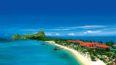 Wakeboarding, Waterskiing, and Cable Wake Parks in Gros Islet: Sandals Grande St. Lucian