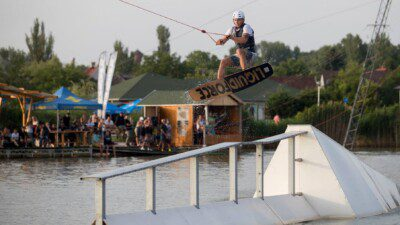 Wakeboarding, Waterskiing, and Cable Wake Parks in Velence: Venice Beach Cable Park