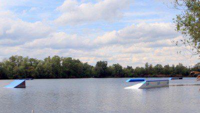 Wasserski und Wakeboard- Seilbahn Gundelfingen
