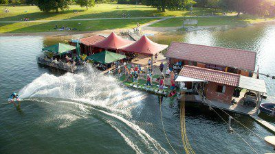 Wakeboarding, Waterskiing, and Cable Wake Parks in Salzgitter: Wasserskiseilbahn Salzgittersee