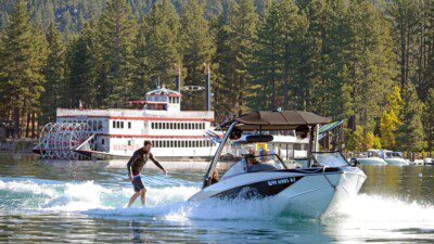 Wakeboarding, Waterskiing, and Cable Wake Parks in Zephyr Cove: Zephyr Cove Marina
