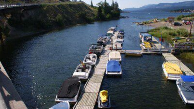 WakeScout listings in British Columbia: Pete's Marina