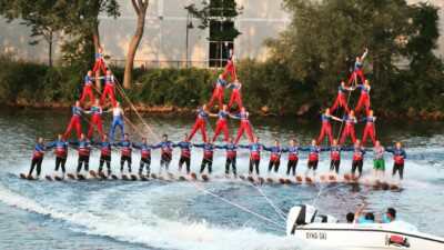Twin Cities River Rats Water Ski Show Team