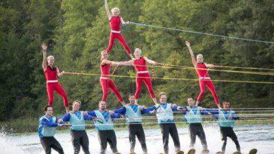 Balsam Lake Water Ski Show Team