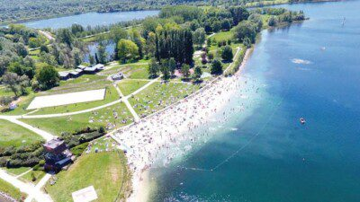 Wakeboarding, Waterskiing, and Cable Wake Parks in Jabline: Ile de Loisirs de Jablines-Annet