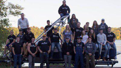 UW-Stout Waterski Team