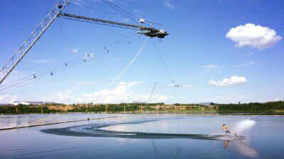 Wakeboarding, Waterskiing, and Cable Wake Parks in Stockholm: The Cable Park
