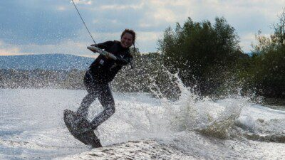 Wakeboarding, Waterskiing, and Cable Wake Parks in Connahs Quay, Deeside: Deeside Wakeboard and Waterski Club