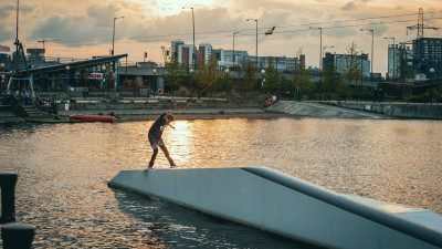 Wakeboarding, Waterskiing, and Cable Wake Parks in London: WakeUp Docklands
