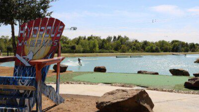 Wakeboarding, Waterskiing, and Cable Wake Parks in Little Elm: Hydrous Wake Park at Little Elm