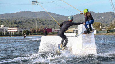 Wakeboarding, Waterskiing, and Cable Wake Parks in Barcelona: Olimpic Cable Park