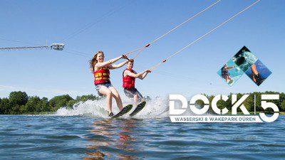 Wakeboarding, Waterskiing, and Cable Wake Parks in Düren: DOCK5 Wasserski & Wakepark Düren