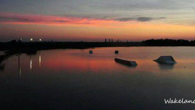 Wakeboarding, Waterskiing, and Cable Wake Parks in Rosario: Wakeland