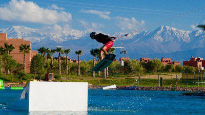 WakeScout listings in Morocco: Waky Beach Marrakech