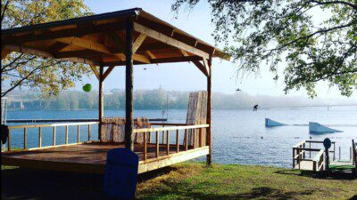 Wakeboarding, Waterskiing, and Cable Wake Parks in Ostersund: Surfbukten Wake Park