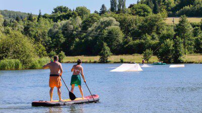 Wakeboarding, Waterskiing, and Cable Wake Parks in Beauchamps: Lieu Dieu