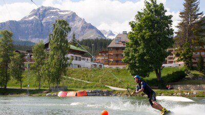 Wakeboarding, Waterskiing, and Cable Wake Parks in Crans-Montana: Crans Montana Ski Resort