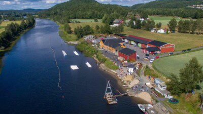 Wakeboarding, Waterskiing, and Cable Wake Parks in Grimstad: Furrebanen Wakeboard Park