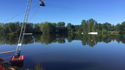 Wakeboarding, Waterskiing, and Cable Wake Parks in Fontaine-Simon: TN28