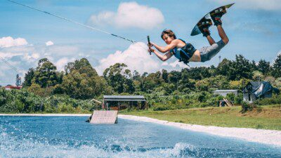 Wakeboarding, Waterskiing, and Cable Wake Parks in Fraijanes: Laguna Wake Park