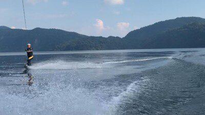 Wakeboarding, Waterskiing, and Cable Wake Parks in Ibusuki: Ikeda Lake Marina Warna