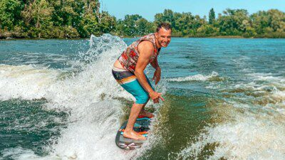 Wakeboarding, Waterskiing, and Cable Wake Parks in Kiev: Adrenalin Wake Club