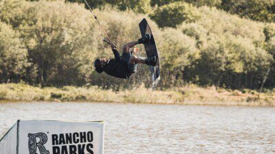 Wakeboarding, Waterskiing, and Cable Wake Parks in Rubene: Rancho Wakepark