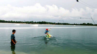 Wakeboarding, Waterskiing, and Cable Wake Parks in Hudson: SunWest Park – The Lift Wake Park
