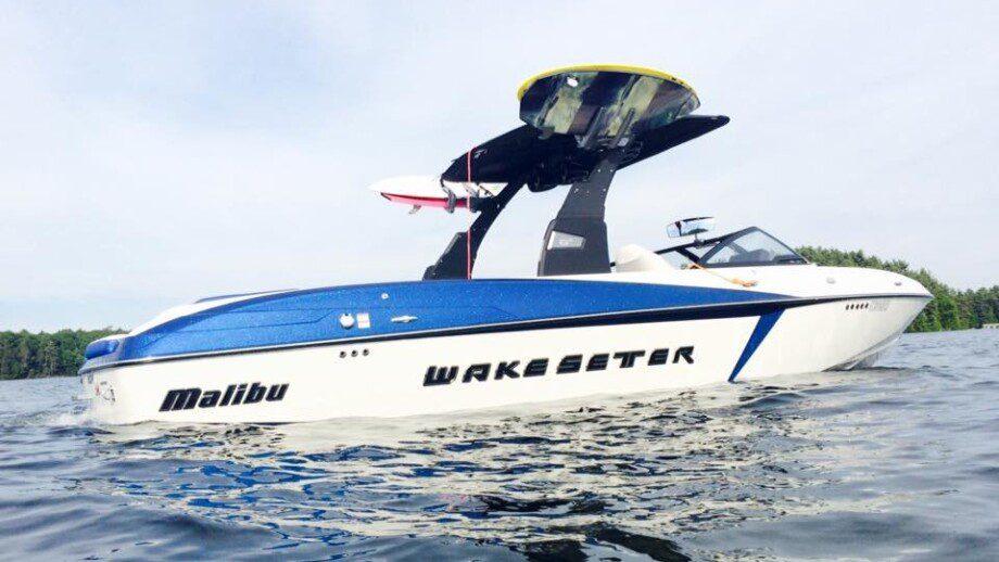 Malibu North Wakesurfing