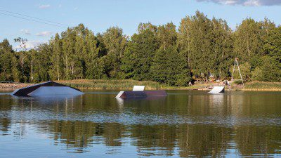 Wakeboarding, Waterskiing, and Cable Wake Parks in Helsinki: Ridenjoy Wake Park