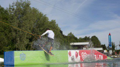 Wakeboarding, Waterskiing, and Cable Wake Parks in Aschheim: Wasserskipark Aschheim