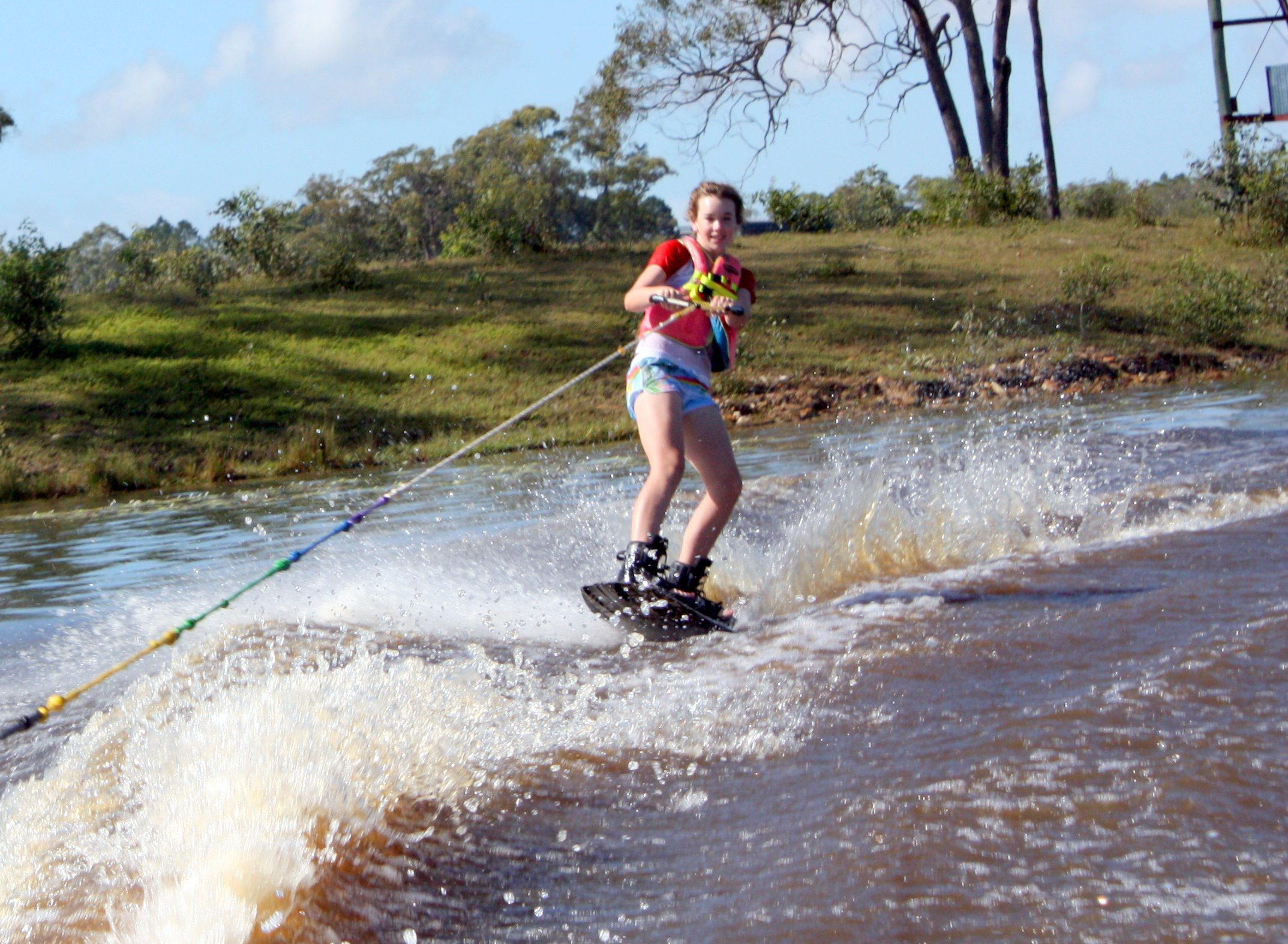 Wakeboarding, Waterskiing, and Cable Wake Parks in Hervey Bay: Susan River Homestead Adventure Resort
