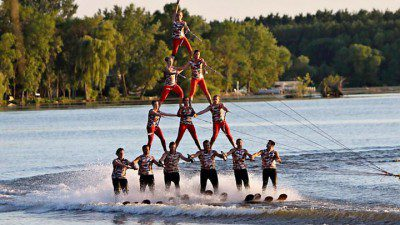 Bald Eagle Water Ski Show