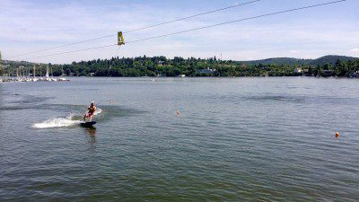 Wakeboarding, Waterskiing, and Cable Wake Parks in Brno: City Wake / Brno