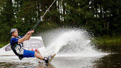 Wakeboarding, Waterskiing, and Cable Wake Parks in Saint-Petersburg: Dawinchi Wake Park