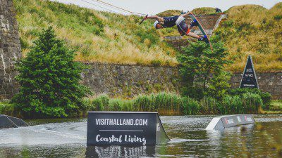 Wakeboarding, Waterskiing, and Cable Wake Parks in Varberg: Varberg Wake Park, Vallgraven