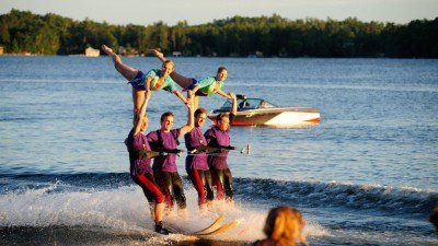 Wakeboarding, Waterskiing, and Cable Wake Parks in Minocqua: Min-Aqua Bats