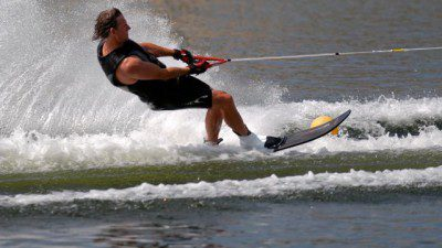 Wakeboarding, Waterskiing, and Cable Wake Parks in Levering: Glacial Lake Waterski Club