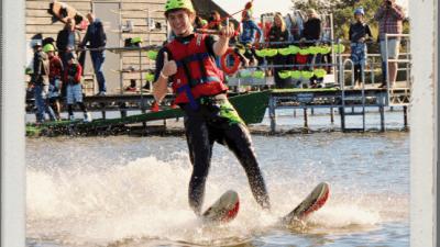 Wakeboarding, Waterskiing, and Cable Wake Parks in Heerhugowaard: Skeef