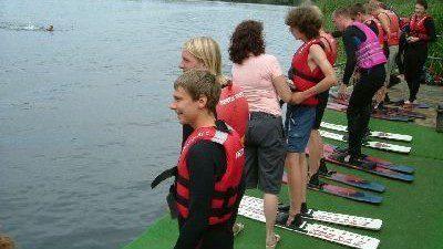 Wasserski und Wakeboardlift Ruhlesee