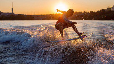 Wakeboarding, Waterskiing, and Cable Wake Parks in Moscow: Wake & Surf Club Endless Summer
