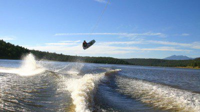 High Altitude Wakeboarding
