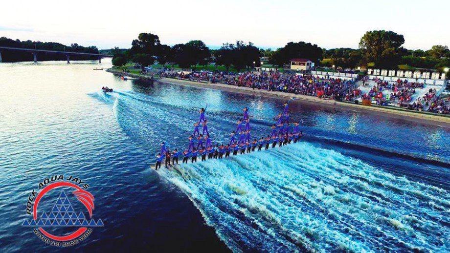 Rock Aqua Jays Water Ski Show Team
